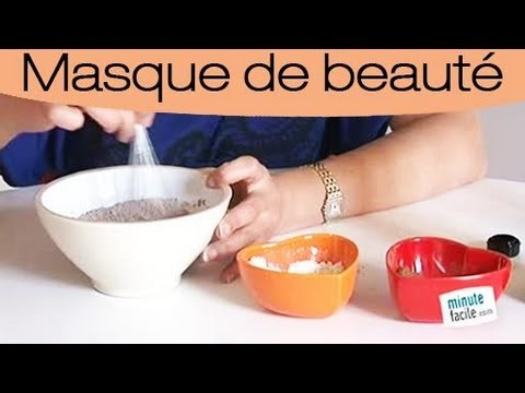 faire un masque au cacao pour le visage maison youtube. Black Bedroom Furniture Sets. Home Design Ideas