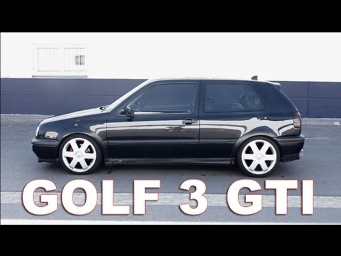 vw golf 3 mk3 gti edition big 17 inch rims black and. Black Bedroom Furniture Sets. Home Design Ideas