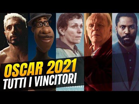 Oscar 2021 - Ecco tutti i vincitori di una strana serata