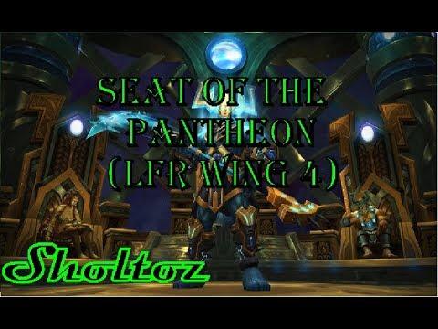 seat of the pantheon wow legion patch 7 3 lfr antorus wing 4 melee