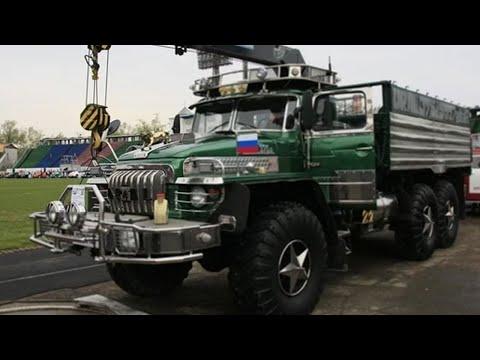 Мужик доработал Урал-375 и сделал из него настоящего красавца!