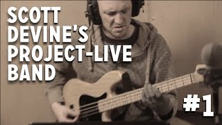 "Gambar cover Scott Devine's Project-Live Band - ""Tune For Sunday"""