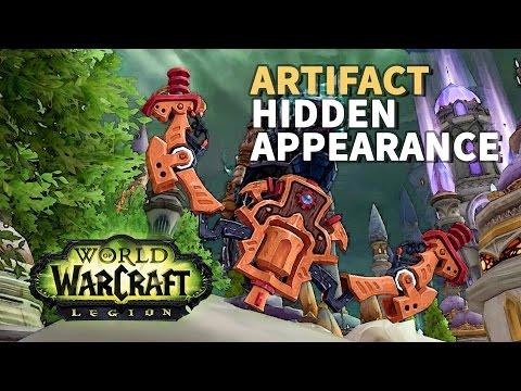 Artifact Hidden Appearance WoW BM Hunter