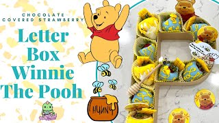 Chocolate Covered Strawberries Letter Box Winnie The Pooh