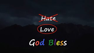 Love God, Hate Eטil | 🙏 God Quotes
