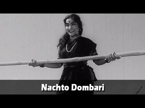 Nachto Dombari - Marathi Folk Song - Kela Ishara Jata Jata - Usha Chavan, Arun Sarnaik