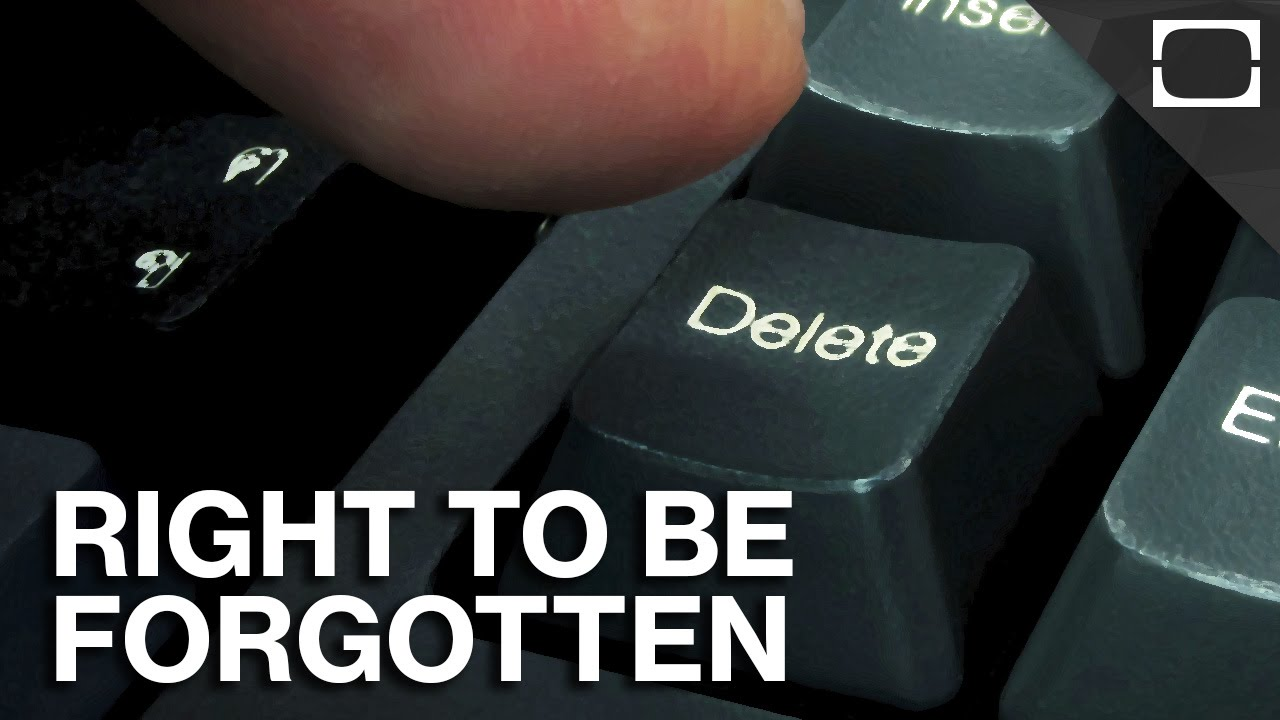 do you have the right to be forgotten online dating