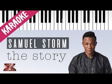 Samuel Storm | The Story | X Factor 11 (INEDITO) // Piano Karaoke con Testo
