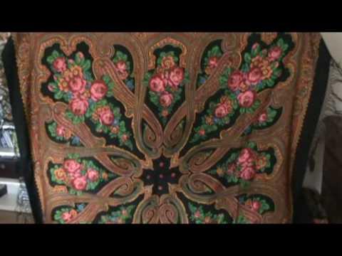 Изделия из павлопосадских платков своими руками