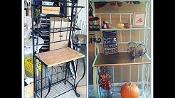 DlY PROJECT: REPURPOSlNG A BAKER'S RACK ft. THE HUBS