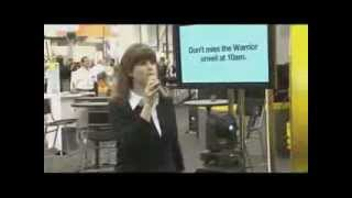 ESAB Warrior Product Launch at FABTECH 2012 (Emilie Barta, Trade Show Presenter)