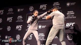 JOANNA JEDRZEJCZYK LOOKS SHARP! READY TO TAKE BACK UFC TITLE FROM ROSE NAMAJUNAS!