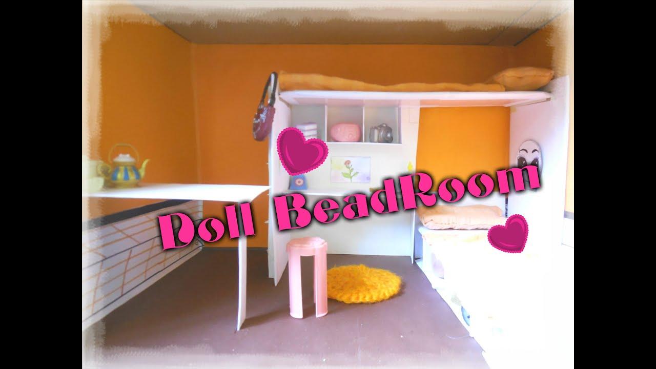 Как сделать для кукол монстер хай комнату