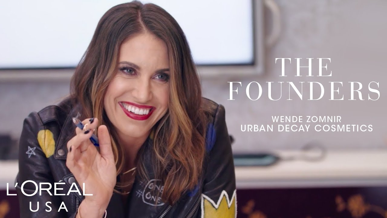Urban Decay founder Wende Zomnir created brand to empower self expression -  YouTube