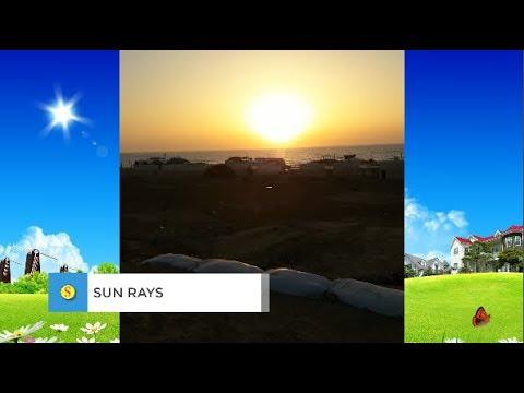 sun rays (sunset ) 2019