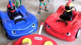 Little Tikes RC Bumper Cars toy unboxing