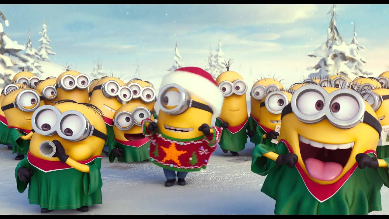 Funny Minion Merry Christmas Wallpapers Sayings: Joyeux Noël [Au Cinéma Le 8 Juillet 2015