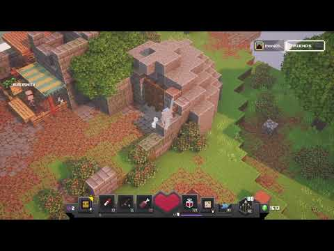 playing-minecraft-dungeons!