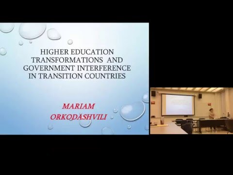 Fulbright Scholar Mariam Orkodashvili: Higher Education Transformations