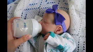 Reborn Iyla's Morning Routine! (Reborn Baby Doll Role-play)