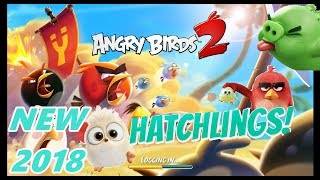 Angry Birds 2 new Hatchling trick is still working | no need of apples.