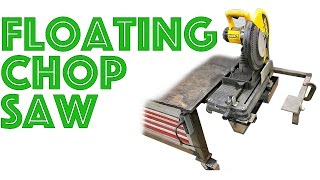Building A Chop Saw Stand - Space Saving Design