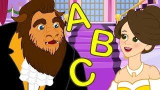 Die Schöne und das Biest im Das ABC-Lied | Kinderlieder zum mitsingen