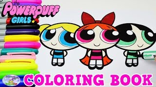 the powerpuff girls coloring book blossom bubbles show episode surprise egg and toy collector setc