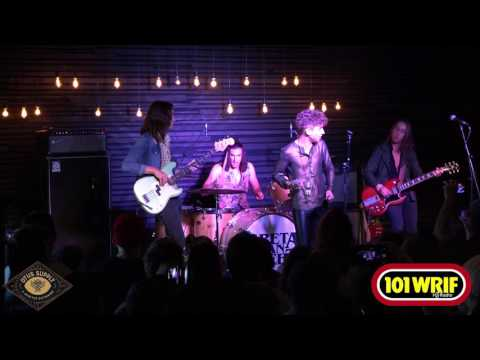 "Greta Van Fleet perform ""Only Time Can Tell"" with WRIF"