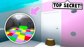 I MADE A SECRET UNDERWATER ENTRANCE TO MY BASEMENT ON BLOXBURG! (Roblox)