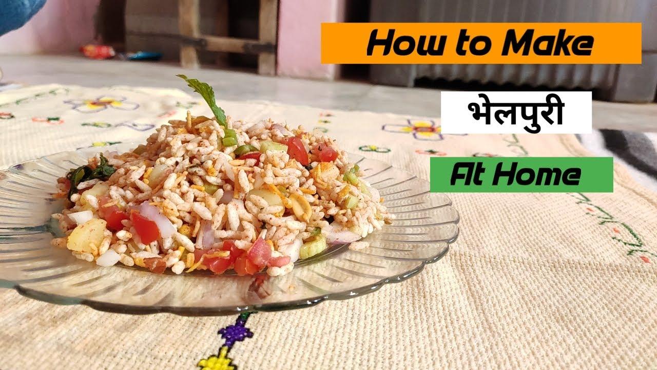 How to Make Bhelpuri At Home   Shekhawati Girl  