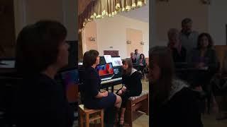 Відкритий урок музичній школі