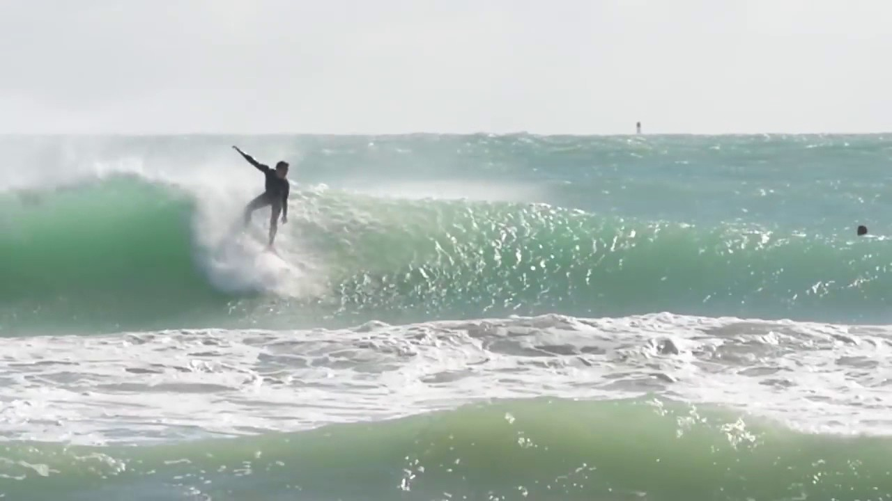 Surfing Miami Beach South January 2017 Test