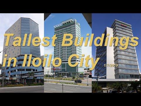 Tallest Buildings in Iloilo City - 1/7/2019