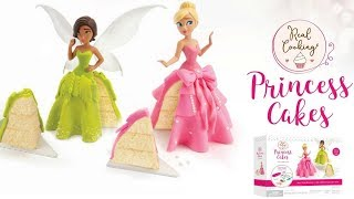 Princess cake DIY, making a doll cake, Barbie doll cake, disney cake, how to make a custom doll cake