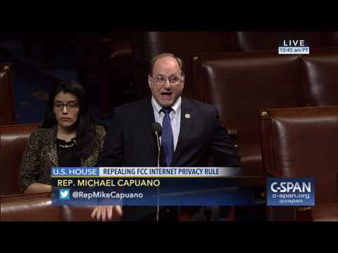 Rep. Capuano speaking about Republican efforts to roll back internet privacy protections