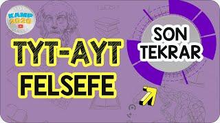 TYT - AYT Felsefe Full Tekrar  Son Tekrar Kampı 2020