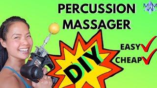 DIY Percussion Massager aka Theragun. Easy & Cheap!