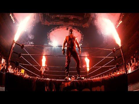 Wrestling: Tag Team Entrances With Pyro
