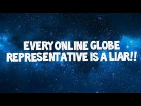Flat Earth: Every online Globe representative is a liar!!
