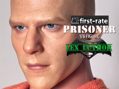 firate-rate 1//6 Batman V Superman Lex Luthor Action Figure Collectible