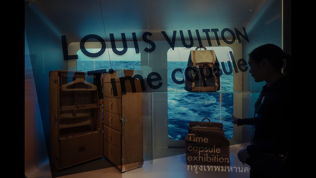 Louis Vuitton Time Capsule Exhibition Bangkok 2017