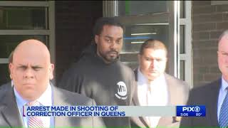 MTA maintenance worker arrested in shooting death of NYC correction officer