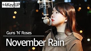 (+4key up) November Rain cover - Guns N' Roses l Bubble Dia