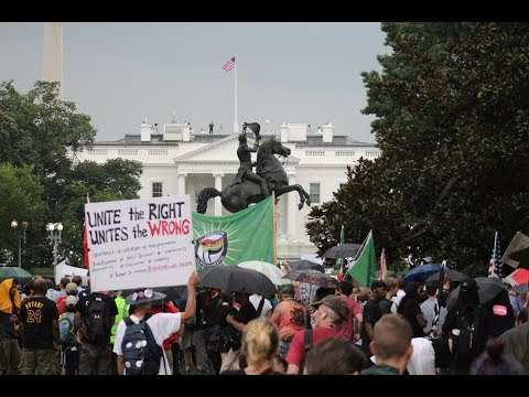 Counterprotests overshadow white supremacist rally in Washington, D.C.