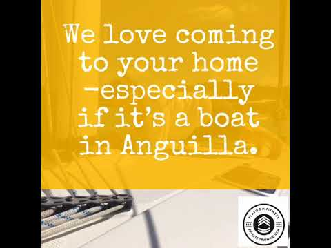 We love coming to your home -especially if it's a boat in Anguilla.