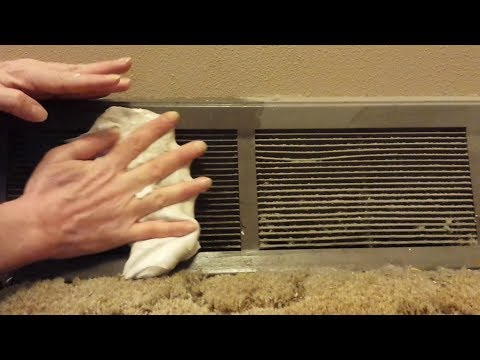 How To Make Cleaning Slime - Homemade DIY Slime, Air Vent Cleaning.
