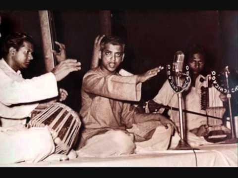 Raag Bhimpalasi - Pandit D.V. Paluskar