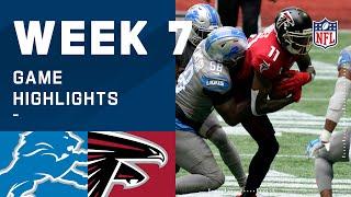 Lions vs. Falcons Week 7 Highlights   NFL 2020