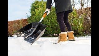 Обзор лопаты для уборки снега Fiskars SnowXpert 143001